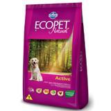 Ração Farmina Ecopet Natural Active para Cães com Nível Elevado de Atividade Física - 20KG