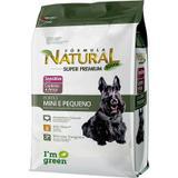 Ração Fórmula Natural Sensitive Cães Raças Mini e Pequena - Formula natural adimax pet
