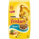 Ração Friskies Sensações Marinhas Atum para Gatos Adultos- 1 Kg - Purina