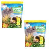 Ração Funny Bunny Chinchila - 2,5 Kg - 02 Unidades - Supra