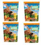 Ração Funny Bunny  Delícias Da Horta - 1,8 Kg - 4 Unidades - Supra