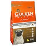 Ração Golden Fórmula Mini Bits Light para Cães Adultos de Pequeno Porte Sabor Frango e Arroz - Premier
