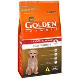 Ração Golden Fórmula Para Cães Filhotes Sabor Frango e Arroz