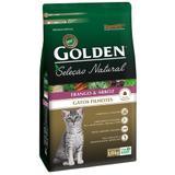 Ração Golden Seleção Natural Gatos Filhotes Sabor Frango e Arroz