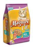 Ração Magnus Cat Mix de Sabores Para Gatos-25 Kg - Adimax