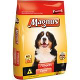 Ração Magnus Premium para Cães Filhotes Carne 10kg