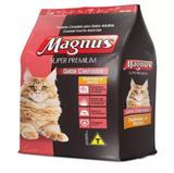 Ração Magnus Super Prem.Gato Castrado Salmão e Arroz 10,1 kg