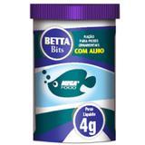 Ração Mega Food Betta Bits 4g com Alho