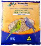 Ração/Mistura Pássaro Forte Para Periquitos 500g