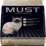 Ração Must Gato Castrado Sabor Frango 10,1 kg