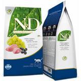 Ração ND Feline Grain Free Cordeiro e Blueberry para Gatos Adultos-400g - Farmina