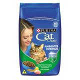 Ração Nestlé Purina Cat Chow Para Gatos Ambientes Internos 10,1kg