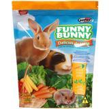 Ração P/ Coelho Funny Bunny 6 Kls Supra (12x Pçt 500g)