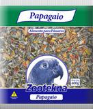 Ração papagaio com frutas 400g - Mistura para Papagaios - Zootekna