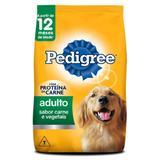 Ração para Cães Adultos Carne e Vegetais Pedigree