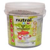 Ração Para Carpas Nutral Cor E Crescimento - 1kg