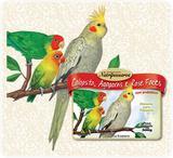Ração para Pássaros Mistura para Calopsita, Agapornis e Rose Faces Nutripássaros-500g - Nutripassaros