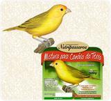 Ração para Pássaros Mistura para Canário da Terra Nutripássaros-500g - Nutripassaros