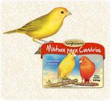 Ração para Pássaros Mistura para Canários Nutripássaros-500g - Nutripassaros