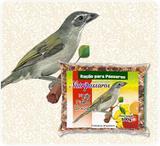 Ração para Pássaros Mistura para Pixarro Trinca-Ferro com Frutas e Mel Nutripássaros-500g - Nutripassaros