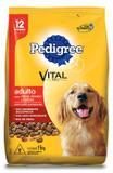 Ração Pedigree Carne, Frango e Cereais para Cães Adultos - 15 Kg