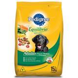 Ração Pedigree Equilíbrio Natural para Cães Adultos de Raças Médias e Grandes - 15 Kg
