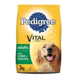 Ração Pedigree Vital Pro Para Cães Adultos Sabor Vegetais