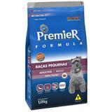 Ração Premier Fórmula Mini Bits Para Cães Adultos Raças Pequenas Sabor Frango - Premier pet
