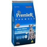 Ração Premier Fórmula Para Cães Adultos Raças Médias Sabor Frango - Premier pet