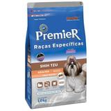 Ração Premier Raças Específicas Para Cães Adultos Shih Tzu Sabor Salmão - Premier pet