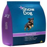 Ração Premium Show Dog Filhotes Carne e Leite 7 kg