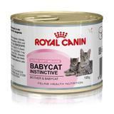 Ração Royal Canin Lata Baby Cat Instinctive Para Gatos Filhotes  195 G