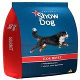 Ração Show Dog Gourmet Sabor Carne 15 kg