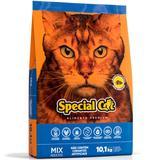 Ração Special Cat Mix Premium Para Gatos Adultos - Special dog - contém carinho