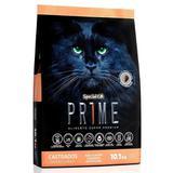 Ração special cat prime salmão e arroz para gatos adultos castrados - Special dog