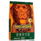Ração Special Dog Gold Premium Para Cães Adultos - Special dog - contém carinho