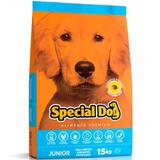 Ração Special Dog Junior Para Cães Filhotes Sabor Carne - Special dog - contém carinho