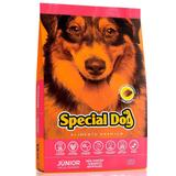 Ração Special Dog Junior Premium Cães Filhotes Raças Grandes - Special dog - contém carinho