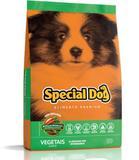 Ração Special Dog Júnior Vegetais para Cães Filhotes-20 Kg