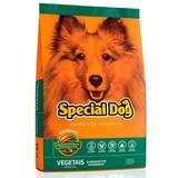 Ração Special Dog Premium Para Cães Adultos Sabor Vegetais - Special dog - contém carinho