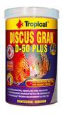 Ração Tropical Discus Gran D-50 Plus 110G Peixes Tropicais