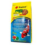 Ração Tropical Pond Sticks Mixed 4kg P/ Carpas E Kinguios