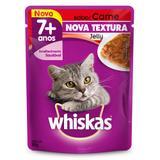 Ração Úmida Whiskas Sachê Jelly Adultos 7+ Carne 85 gr