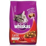 Ração Whiskas Carne Para Gatos Adultos - 10,1kg