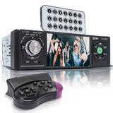 Radio automotivo carro Central Multimídia Mp5 Universal 4.1 Bluetooth Usb sd Fm - Knup