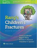 Rangs Childrens Fractures - Lww