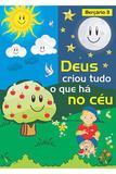 RED Aleluia - Berçário nº 3 - Deus Criou Tudo o Que Há no Céu - Editora aleluia