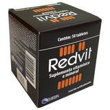 Redvit suplemento vitamínico e mineral 50 tablets - Delta