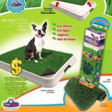 Refil sanitário canino higiênico banheiro cães grama lavável - Pet injet