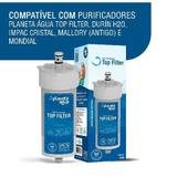Refil Top Filter Compativel Com Durin H20, Impac Cristal, Mallory E Mondial - Planeta água